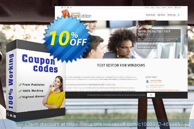 EmEditor Professional Annual Subscription discount 10% OFF, 2021 National No Bra Day promotions. EmEditor Professional (Annual Subscription, non-store app) awful sales code 2021