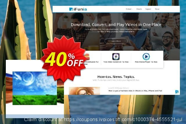 iFunia 3DGallery for Mac discount 40% OFF, 2021 Happy New Year discount