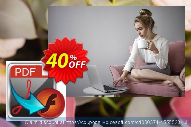 iFunia PDF2SWF for Mac discount 40% OFF, 2021 Happy New Year offering sales