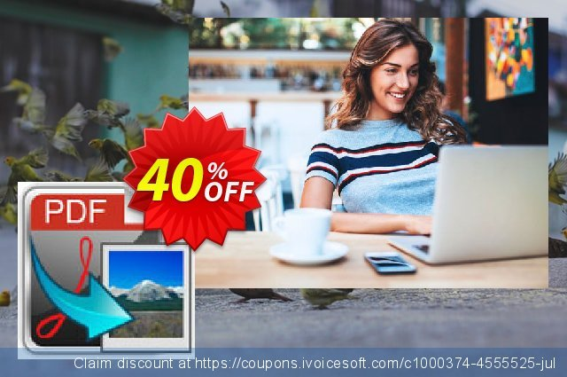 iFunia PDF2Image for Mac discount 40% OFF, 2020 Black Friday discounts