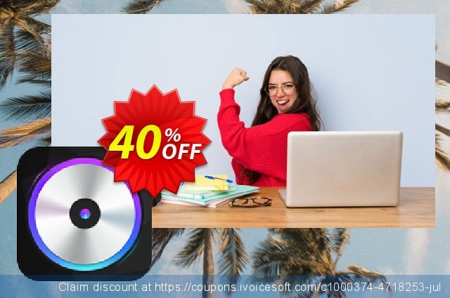 iFunia Video Converter for Mac - Lifetime License discount 40% OFF, 2020 New Year's Day offering sales