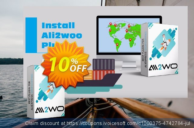 Ali2Woo Dropshipping Store (Advanced) discount 10% OFF, 2021 Happy New Year discounts