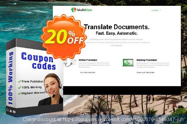 Multilizer PDF Übersetzer Standard  놀라운   매상  스크린 샷