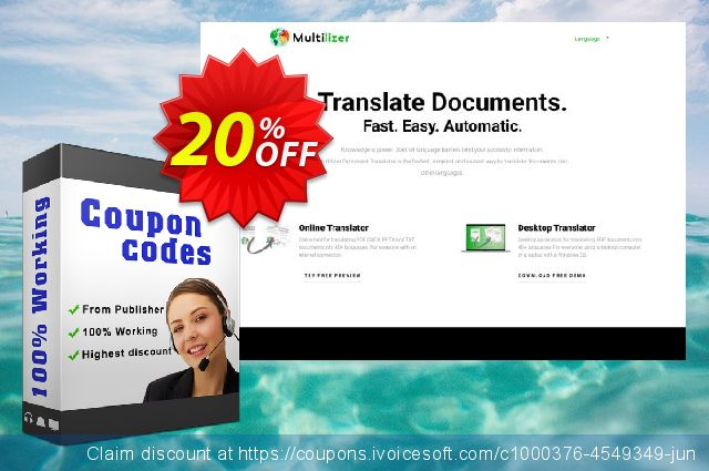 Multilizer PDF Translator Standard (русский)  경이로운   세일  스크린 샷