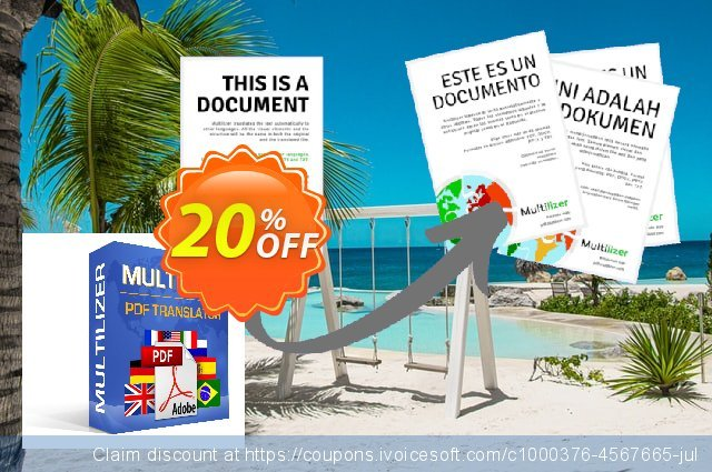 Multilizer PDF Translator Standard (polski) discount 20% OFF, 2021 New Year discounts