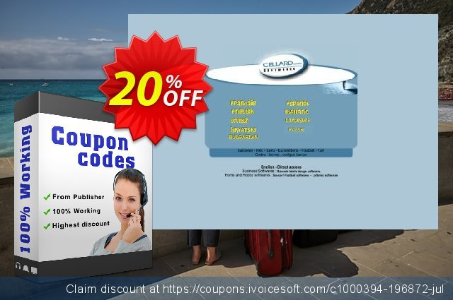 ECOSUPER7 - CD discount 20% OFF, 2020 Back to School event offering sales