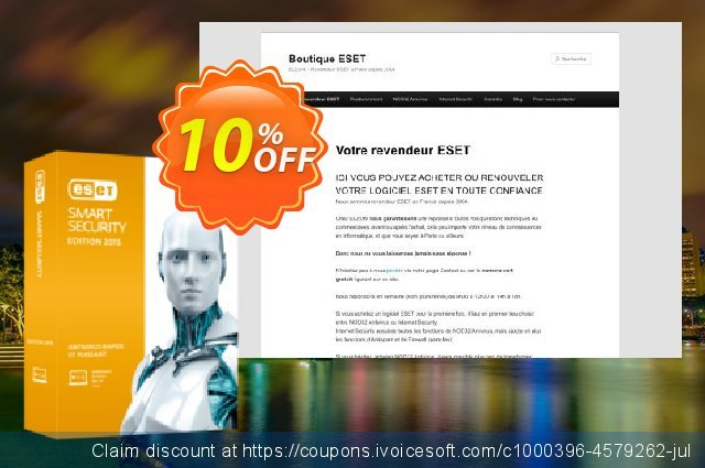 ESET Smart Security - Réabonnement 2 ans pour 4 ordinateurs  대단하   세일  스크린 샷