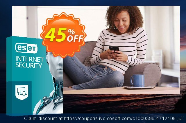 ESET Internet Security - Abonnement 3 ans pour 1 ordinateur discount 10% OFF, 2020 Exclusive Teacher discount promo sales