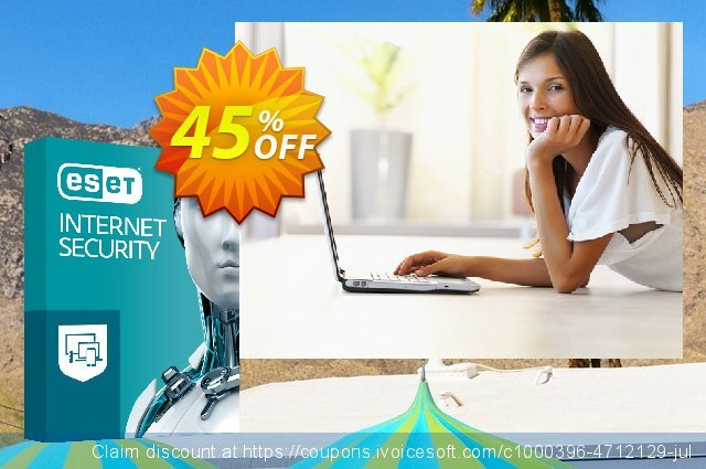 ESET Internet Security - Abonnement 2 ans pour 3 ordinateurs discount 10% OFF, 2020 Halloween offering sales