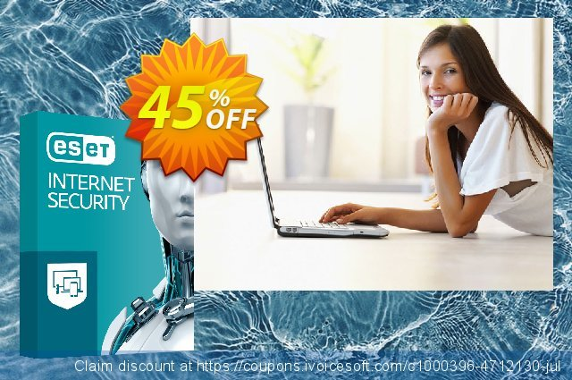 ESET Internet Security - Abonnement 1 an pour 3 ordinateurs discount 10% OFF, 2020 Halloween offering sales