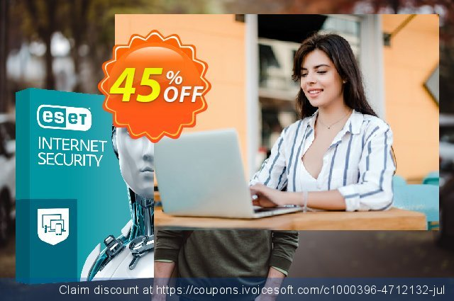 ESET Internet Security - Abonnement 2 ans pour 2 ordinateurs discount 10% OFF, 2020 Teacher deals offering sales