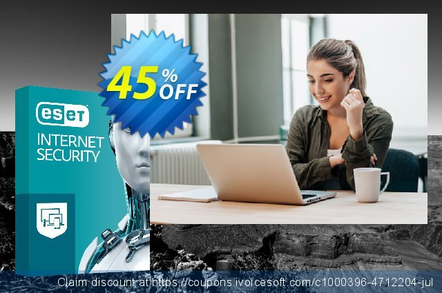 ESET Internet Security - Reabonnement 1 an pour 1 ordinateur  특별한   세일  스크린 샷