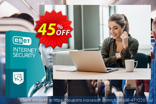 ESET Internet Security - Reabonnement 1 an pour 2 ordinateurs discount 10% OFF, 2020 Halloween offering sales