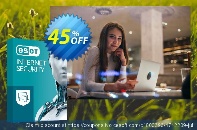 ESET Internet Security - Reabonnement 3 ans pour 2 ordinateurs discount 10% OFF, 2020 Halloween offering sales