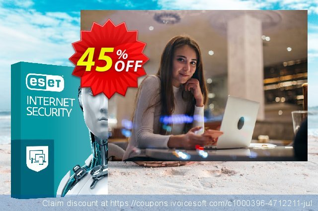 ESET Internet Security - Reabonnement 2 ans pour 3 ordinateurs  신기한   할인  스크린 샷