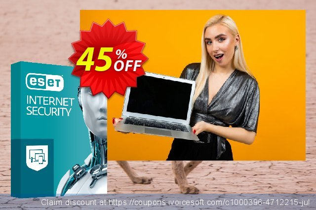 ESET Internet Security - Reabonnement 3 ans pour 4 ordinateurs  특별한   매상  스크린 샷