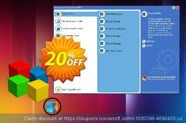 Advanced Uninstaller PRO - Daily Health Check Plus (2 years) 最佳的 优惠 软件截图