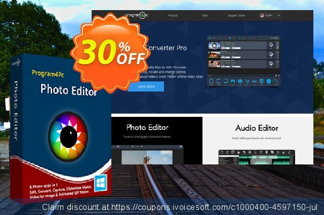 Program4Pc Photo Editor discount 30% OFF, 2021 Working Day discounts. Photo Editor fearsome discount code 2021