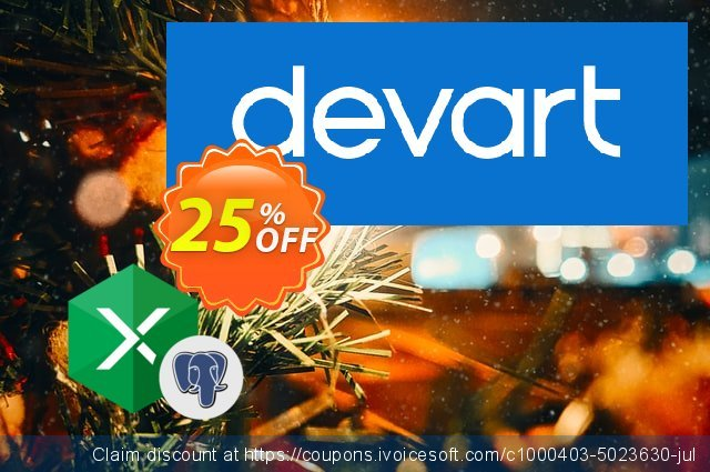 Excel Add-in for PostgreSQL discount 23% OFF, 2020 Back to School shopping offering sales