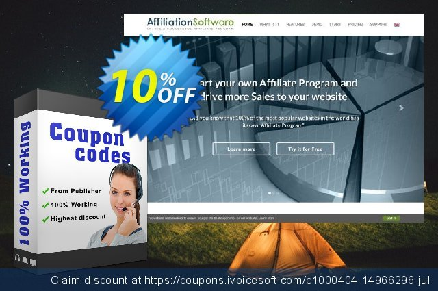 AffiliationSoftware Network discount 10% OFF, 2020 College Student deals offering sales