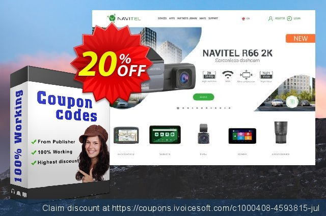 Navitel Navigator. Czech Republic, Slovakia discount 20% OFF, 2021 World Bicycle Day offering sales. Navitel Navigator. Czech Republic, Slovakia fearsome sales code 2021
