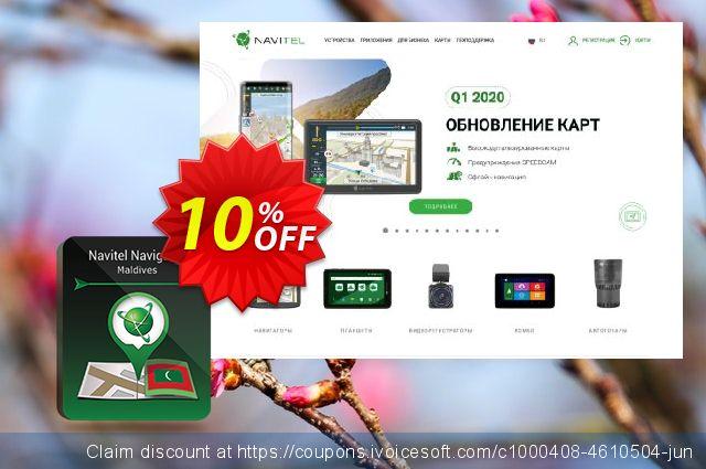 "Navitel Navigator. ""Maldives"" (365 days) discount 10% OFF, 2020 Happy New Year offering sales"