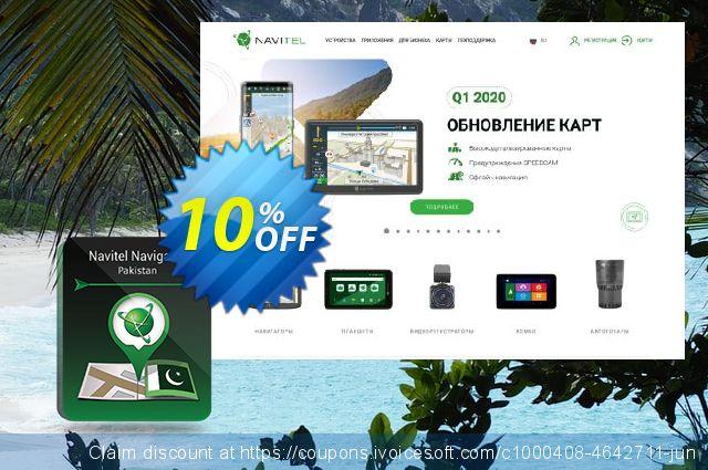 "Navitel Navigator. ""Pakistan"" (365 days) discount 10% OFF, 2020 Happy New Year promotions"