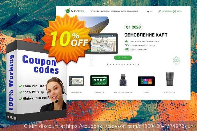 "Navitel Navigator. ""Caucasus"" discount 10% OFF, 2020 January promotions"