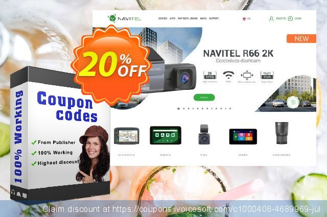 PROMO! Navitel Navigator. Salut! Hola! Ciao! discount 10% OFF, 2021 Easter day promo sales