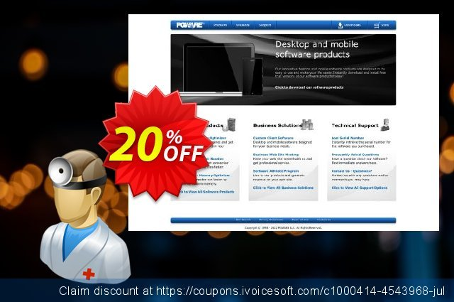 PCMedik discount 20% OFF, 2021 New Year offering sales