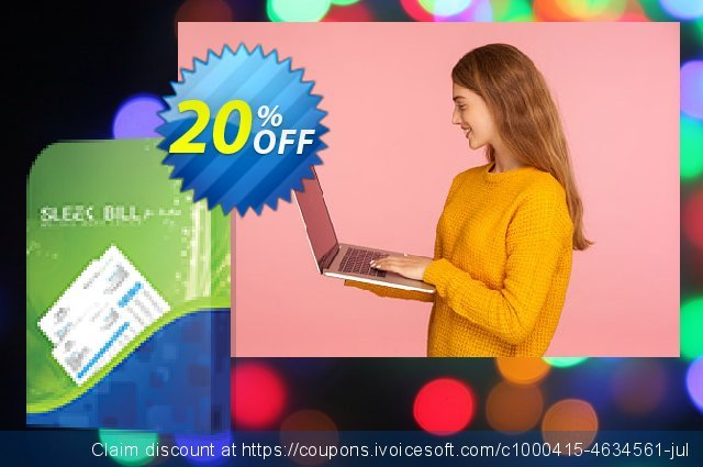 Sleek Bill for India | Yearly License discount 20% OFF, 2020 Happy New Year offering sales