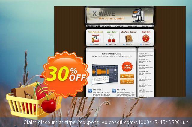 Mac App Bundle (Magic Cutter + eXtra Voice Recorder + Smart Gain)惊人的优惠码 软件截图