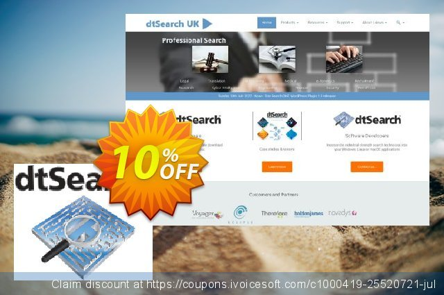 dtSearch Web/Engine (3 server license) discount 10% OFF, 2021 Oceans Month offering sales. dtSearch Web/Engine (Windows) - 3 server license Amazing discounts code 2021