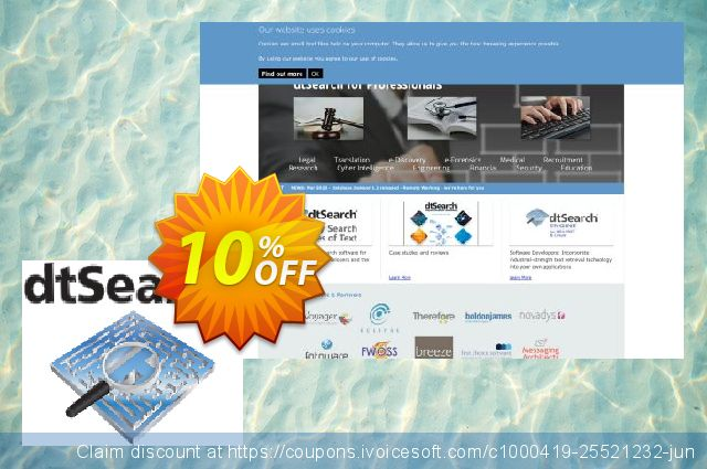 dtSearch Engine (4+ servers) discount 10% OFF, 2020 4th of July offering sales