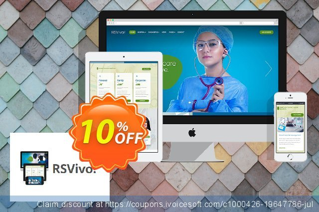 RSVivo! Template discount 10% OFF, 2020 Halloween promo