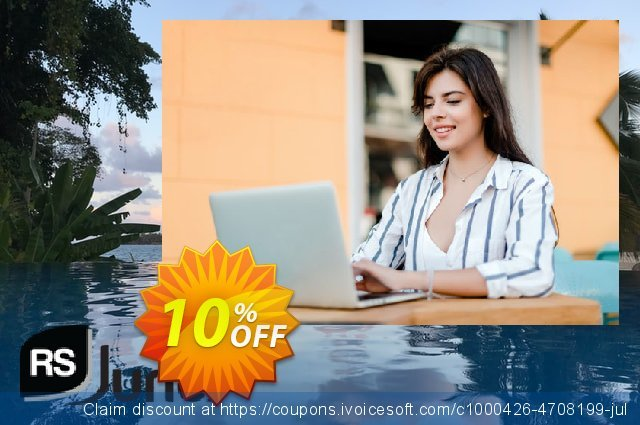 RSJuno! Template discount 10% OFF, 2020 Teacher deals offering deals