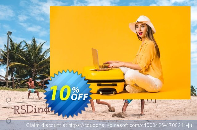 RSDinah! Template discount 10% OFF, 2020 Back to School offer promotions