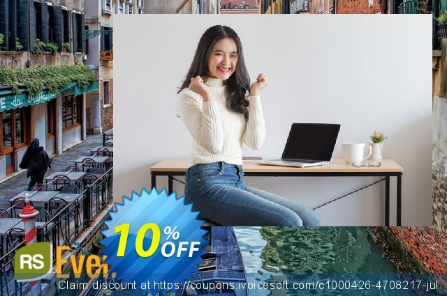 RSEvento! Template discount 10% OFF, 2020 Exclusive Teacher discount offering sales