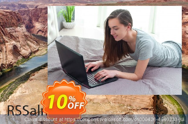 RSSalma! Template discount 10% OFF, 2020 Back to School Promos offering sales