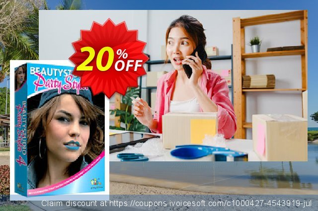 Party Styler 4 (Download) discount 20% OFF, 2021 Happy New Year promo sales