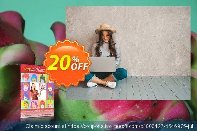Virtual Hairstudio 6 Salon Edition (Download) discount 20% OFF, 2021 New Year's Day offering discount