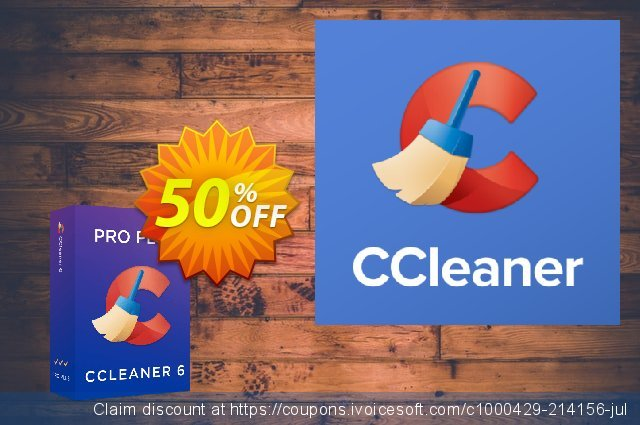 CCleaner Professional Plus discount 50% OFF, 2020 College Student deals promo