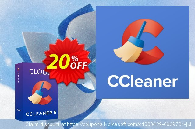 Cleaner Business Cloud discount 20% OFF, 2021 Easter day offering sales