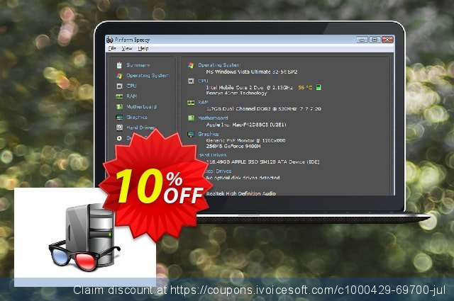 Speccy Business Edition discount 10% OFF, 2020 Xmas Day promo