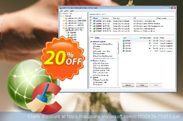 CCleaner Network Edition discount 20% OFF, 2019 Christmas & New Year offering sales