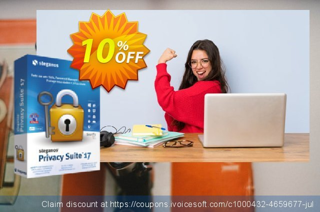 Steganos Privacy Suite 17 (PT) discount 10% OFF, 2020 4th of July discount
