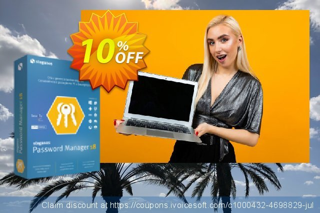 Steganos Password Manager 18 (PT) discount 10% OFF, 2020 July 4th offering sales