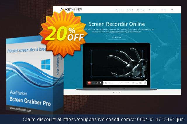 Screen Grabber Pro - Lebenslange persönliche Lizenz discount 20% OFF, 2020 Halloween offering sales