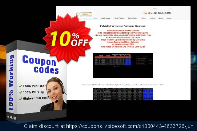 FxMath Sto Trader EA Package 大的 促销 软件截图