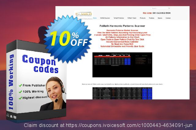 FxMath Pip Generator EA Package discount 10% OFF, 2020 College Student deals offering sales